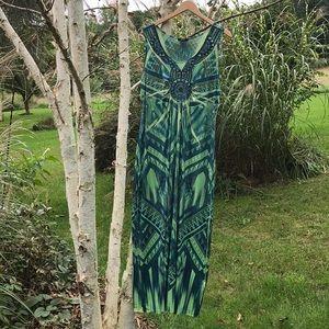 Full length casual dress